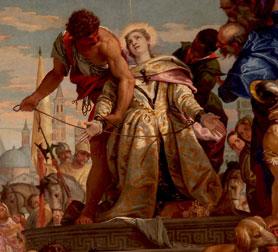 Il martirio di Santa Giustina, Veronese
