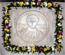 Immagine clipeata di S. Prosdocimo