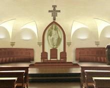 Progetto per il Nuovo Coro Ligneo della Cripta di S.Giustina