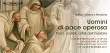 """23-24/09/2017 Convegno """"UOMINI di PACE OPEROSA"""" intervento del Padre Abate Don Giulio Pagnoni"""