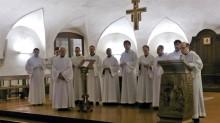 Coro dei Monaci Benedettini di Santa Giustina Padova alla Basilica del Santo – 20/02/2018